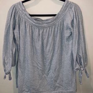 Lucky Brand Tops - Lucky Off the Shoulder Blouse